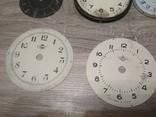 Циферблаты металлические к разным настольным часам, 7 шт., фото №6