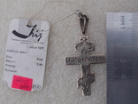 Нательный крест из серебра 925. Новый, родная бирка и пломба ., фото №3
