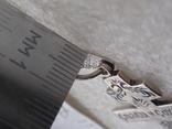 Нательный крест из серебра 925. Новый, родная бирка и пломба ., фото №4