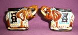 Пепельницы Слоны - Индия керамика поливная глазурь., фото №3