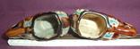 Пепельницы Слоны - Индия керамика поливная глазурь., фото №6