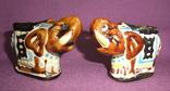 Пепельницы Слоны - Индия керамика поливная глазурь., фото №8