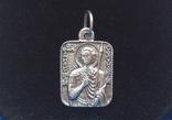 Подвеска «Св. Муч. Димитрій», 2,8 гр; 925/трезубец, фото №5