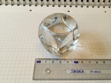 Сувенир, Игральная кость хрустальная декоративная 4х4см, фото №5
