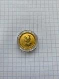 Lunar, Лунар, Монета год петуха 2005 Австралия 1/4 oz 25 Долларов, фото №2