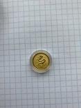 Lunar, Лунар, Монета год дракона 2000 Австралия 1/10 oz 15 Долларов, фото №2