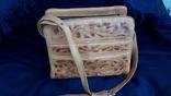 Вінтажна сумка з тисненням, фото №2