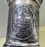 Кубок серебро 800 проба 1880 год., фото №4