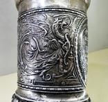 Кубок серебро 800 проба 1880 год., фото №5