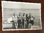 1955 Одесса Рыбаки Лодка, фото №2