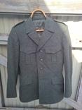 Китель - мундир - пиджак Швейцария армейский , шерсть - сукно,48 размер,1986г/в., фото №2