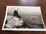 1965 Одесса На берегу Камни Осень, фото №4