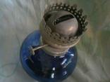 Стеклянная керосиновая лампа, фото №5