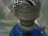 Стеклянная керосиновая лампа, фото №6