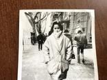 Одесса Девушка в модной куртке Телефонный аппарат, фото №4