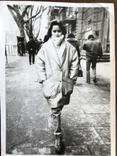 Одесса Девушка в модной куртке Телефонный аппарат, фото №6