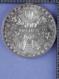 500 франков Западная Африка (BCEAO), 1972 г., серебро 0.900 25 грамм, фото №2