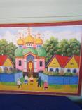 Картина .Украинский приметив. До церкви., фото №4