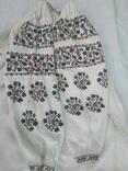 Сорочка Миргородська вишиванка конопляна полотняна оригінальна, фото №2