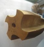 Метчик м/р.трубный G1 титановое покрытие производства Фрезер, СССР, фото №7
