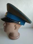 Фуражка военнослужащего ВВС СССР 1980 г., фото №4