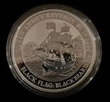 Тувалу Черные Паруса: Месть Королевы Анны 2019 год 1 унция серебро 999, фото №3