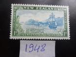 Корабли. Новая Зеландия. 1948 г. Парусники. MNH, фото №2