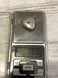 Кулон серебряный ссср, фото №5