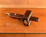 W.Marples Sons, Sheffield, England Антикварный комбинированный разметочный рейсмус Циркуль, фото №2