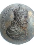 Плакетка Король Польщі Людовік І Великий, фото №8
