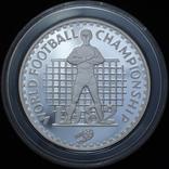 10 Малоти 1982 Чемпионат мира по футболу 1982 Вратарь (Серебро 0.925, 23.33г), Лесото, фото №2