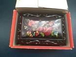 Сувенир шкатулка из ссср новая 1991г, фото №3