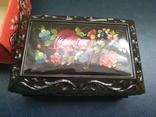 Сувенир шкатулка из ссср новая 1991г, фото №2