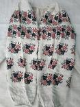 Сорочка вишиванка конопляна полотняна Миргородська святкова рубаха женская старинная, фото №3