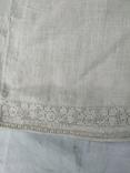 Сорочка вишиванка конопляна полотняна Миргородська святкова рубаха женская старинная, фото №5