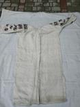 Сорочка вишиванка конопляна полотняна Миргородська святкова рубаха женская старинная, фото №6