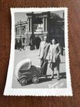 1953 Одесса Оперный театр Коляска Фото Сталин Ленин, фото №2