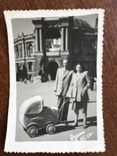 1953 Одесса Оперный театр Коляска Фото Сталин Ленин, фото №7