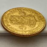 10 гульденов. 1917. Вильгельмина. Нидерланды (золото 900, вес 6,70 г), фото №6