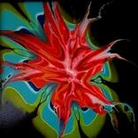 Fluid Art #23 acrylic, фото №3