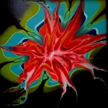 Fluid Art #23 acrylic, фото №4