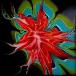 Fluid Art #23 acrylic, фото №5