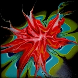 Fluid Art #23 acrylic, фото №6