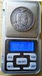 5 марок / 27,8 грам срібла 900 проби / 1913 року Прусія ///копія пробної/, фото №12