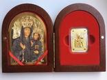 Ікона Зарваницької Матері Божої 1 долар 2014 рік Срібло 999' позолота, фото №2