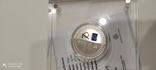 Юбилейная колекционная серебрянная монета, фото №5