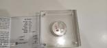 Юбилейная колекционная серебрянная монета, фото №7