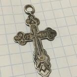 Серебряный крестик, фото №3