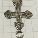 Серебряный крестик, фото №4