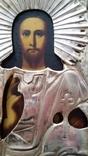 Ікона Ісуса Христа, латунь, позолота, 22,0х18,0 см, фото №7